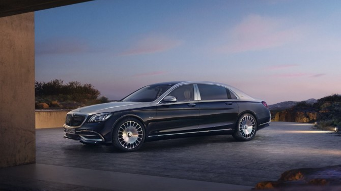 Продажи Mercedes-Maybach S-Klasse в России упали на 34%