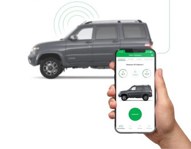 УАЗ оснастит свои автомобили технологиями Connected car