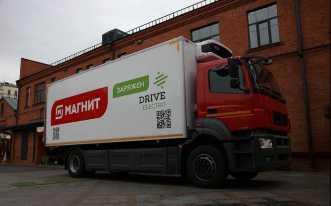 Первый грузовой электромобиль Moskva передан для тестов в торговую сеть