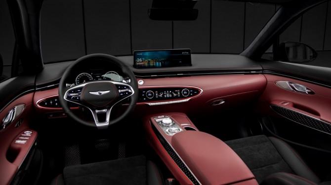 Genesis представил пятую модель в своей линейке - кроссовер GV70