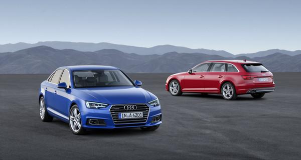 Audi выпустила тизер A4 Sedan и A4 Avant