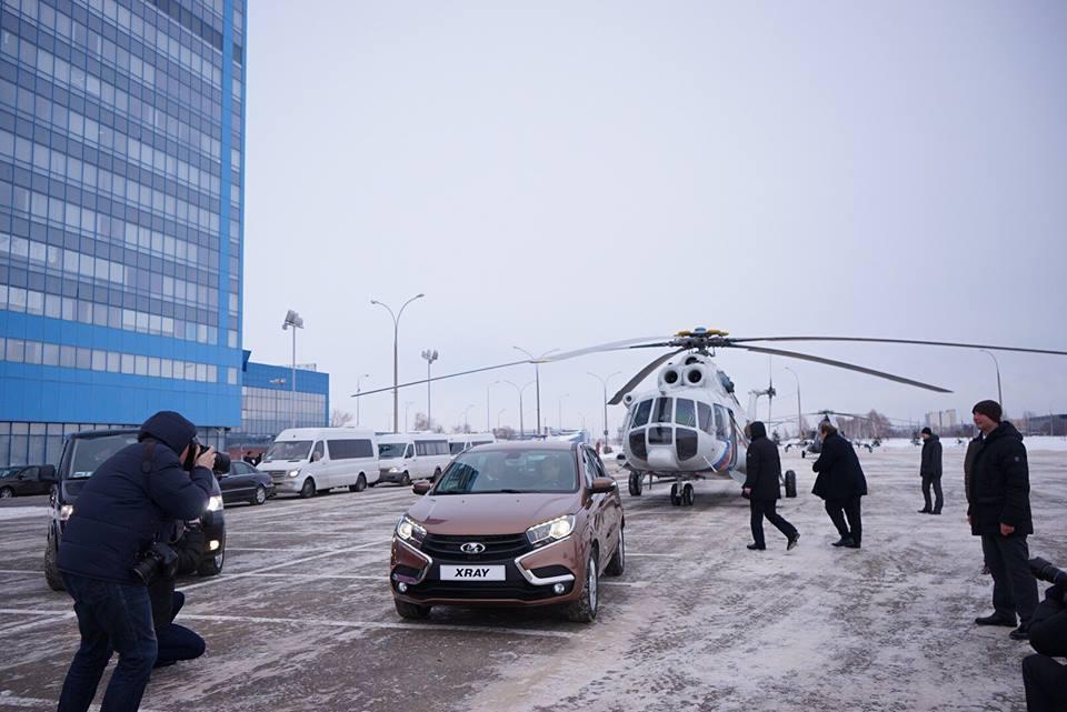 Для совещания по развитию автопрома Дмитрий Медведев посещал АВТОВАЗ (фото)