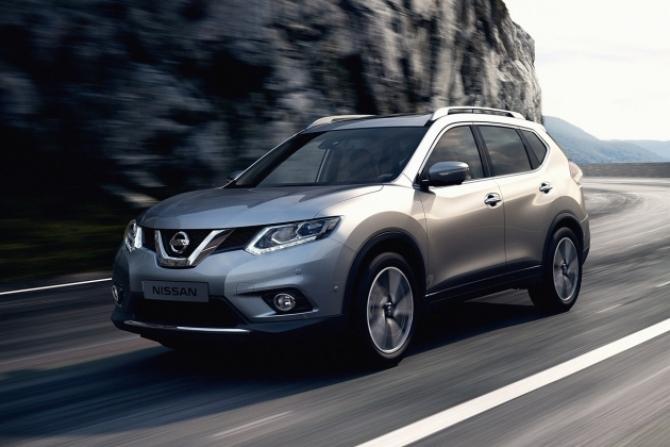 Nissan X Trail в феврале стал бестселлером марки в России
