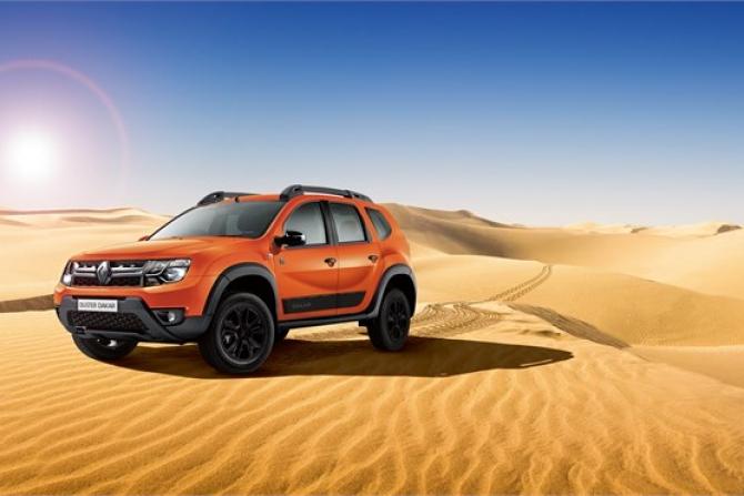 Рэно привезла в РФ новейшую лимитированную серию Duster Dakar